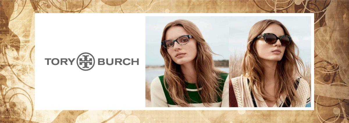 Tory Burch eyeglasses and sunglasses